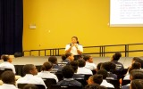 PC Chery Presenting to CHHS Students on Safer Internet Use and Cyberbullying