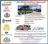 The Kirkland Nixon Memorial Fire Truck Pull