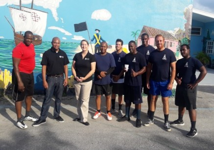 West Bay CPD Officers Join with Bonaventure Boys Home for Day of Fun