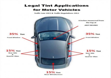 RCIPS Issues Almost 200 Tickets for Tint in July, Reminds the Public of Tint Regulations
