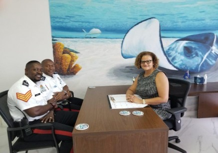 Official Introductory Meeting with West Bay Community Officers and Minister Tara Rivers