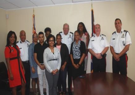 The RCIPS Welcomes Nine (9) Summer Interns, 18 June