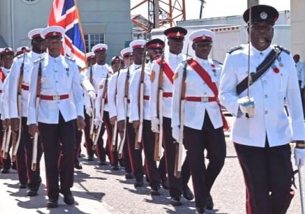 Remembrance Day Ceremonial Parade, 11 November