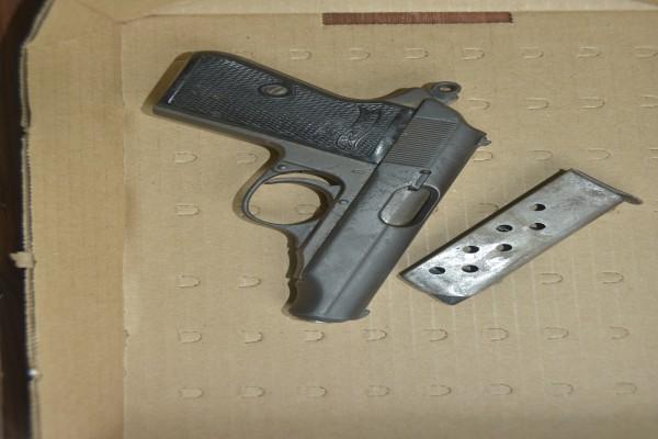 Firearm Recovery in West Bay