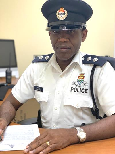 Acting Inspector Kevin Bogle Begins Tenure as New Police Commander for the Sister Islands