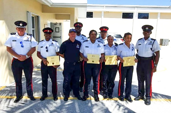 Sister Islands Officers Complete Training Course, 7 February