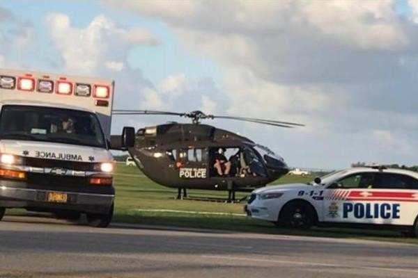 Police Helicopter Conducts Two Medical Evacuations in One Day, 23 July