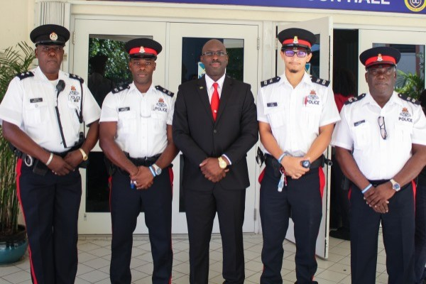 RCIPS Welcomes Visit from Jamaica's Assistant Superintendent of Police