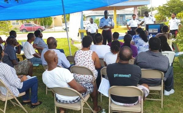 Community Policing Department Holds Crime Prevention Workshop in Bodden Town, 27 January