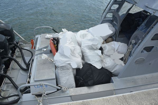 Update: Men Charged Following Interdiction of Over 900lbs of Ganja by the JMU, 20 March