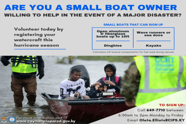 National Hurricane Search & Rescue Emergency Support Team Seeks Small Boat Owner Volunteers