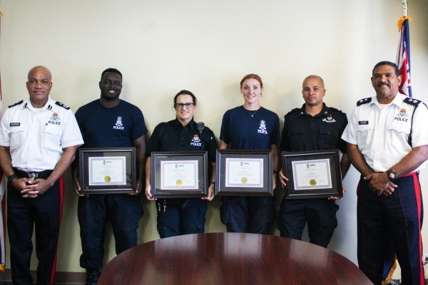 RCIPS K-9 Unit Completes 3-Week Intensive Training, 23 January