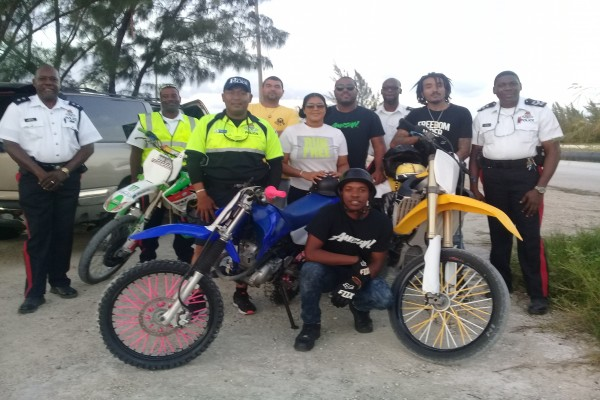 Police Facilitate Safe and Legal Off-Road Motorbike Gathering