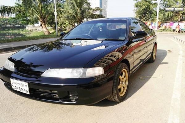 Stolen 1996 Black Honda Integra