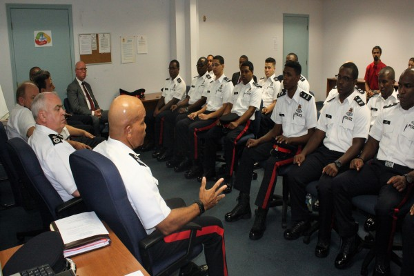 First RCIPS Recruit Class of 2018 Sworn-In