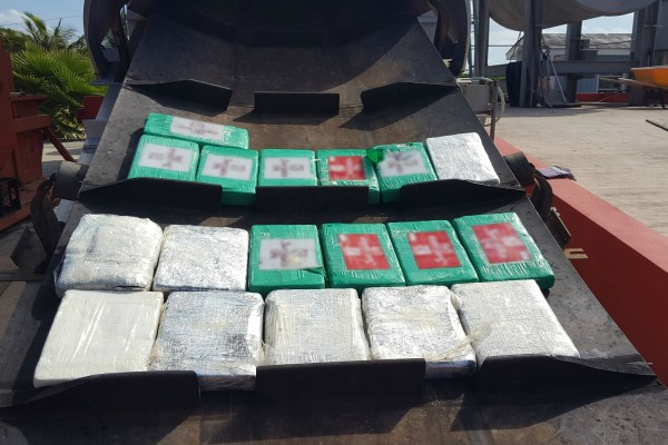18kg of Cocaine Recovered in North Side, Disposed of Today