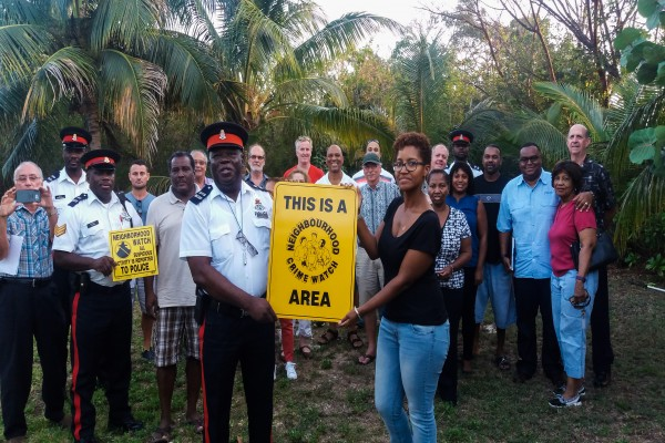 Valley Garden Residents Launch Neighbourhood Watch with Assistance from Bodden Town Community Office