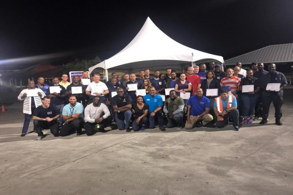RCIPS Officers Complete Mass Casualty Training, 18 April