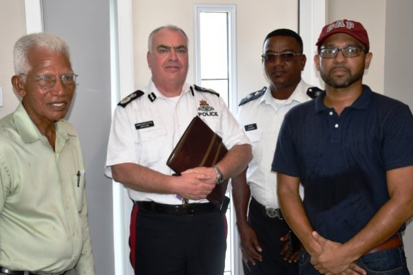 CoP Meets with Second Landowner in West Bay Land Dispute, 9 July