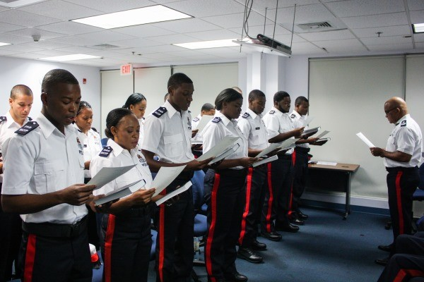 RCIPS Welcomes First Recruit Class of 2019