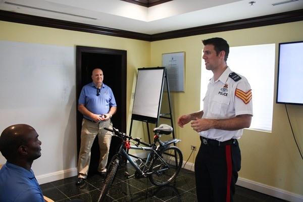APS Jonathan Kern Helps Deliver Bicycle Safety Training to Ritz-Carlton Employees, 21 February