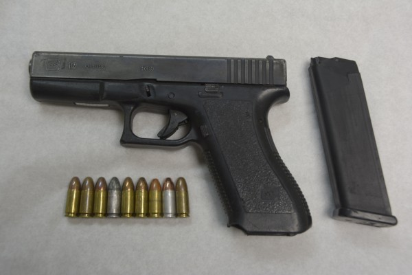 Two Charged with Possession of Unlicensed Firearm and Ammunition