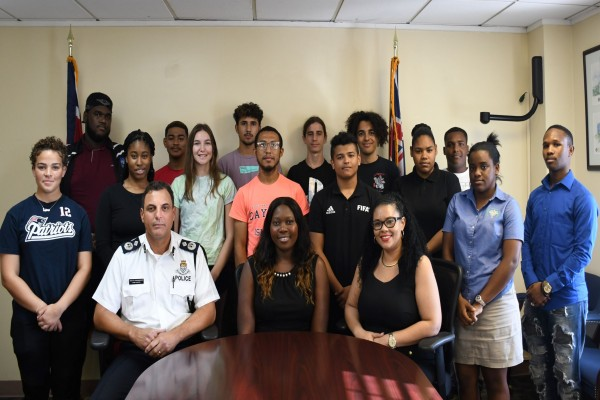 RCIPS Hosts Career Tour for Young People, 4 February
