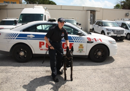 New Police Dog Joins the RCIPS K-9 Unit