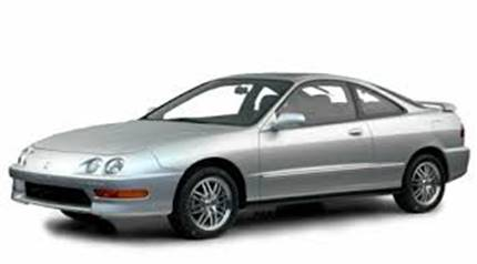 Stolen 1998 Silver Honda Integra