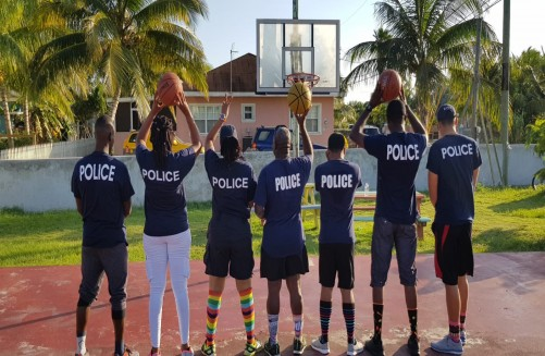 Sector Two (Bodden Town District Community Policing Officers) Launch You in Focus Program, 7 March