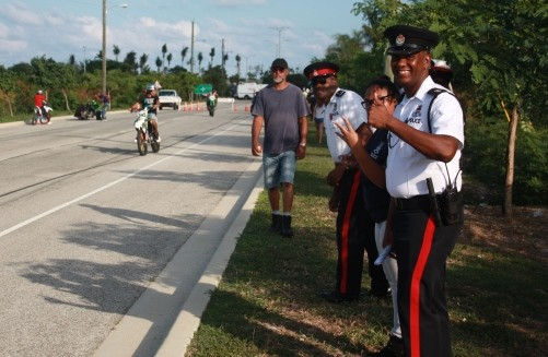 Police Facilitate Ride Out Cayman, 25 November