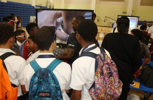 Police Participate in John Gray Career Day, 5 March