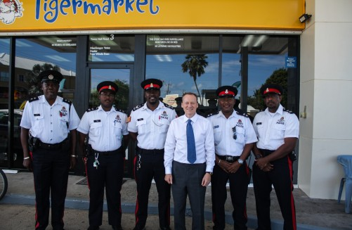 His Excellency the Governor Martyn Roper Spends Morning on Patrol with CPD