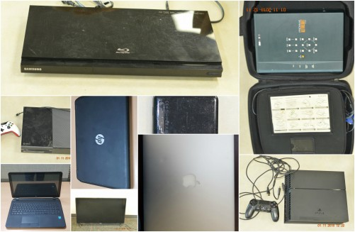Property Recovered by Police for the Public's View, 2 November