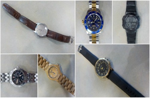 Property Recovered by Police for the Public's View Continued, 2 November
