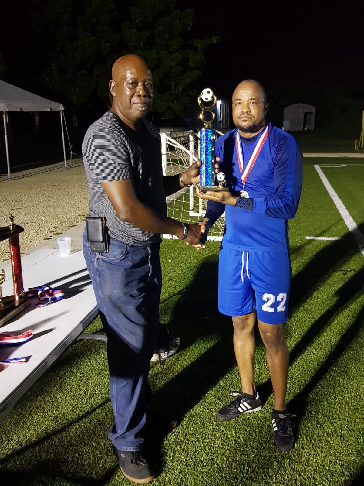 Inspector Joe Wright secured the MVP trophy
